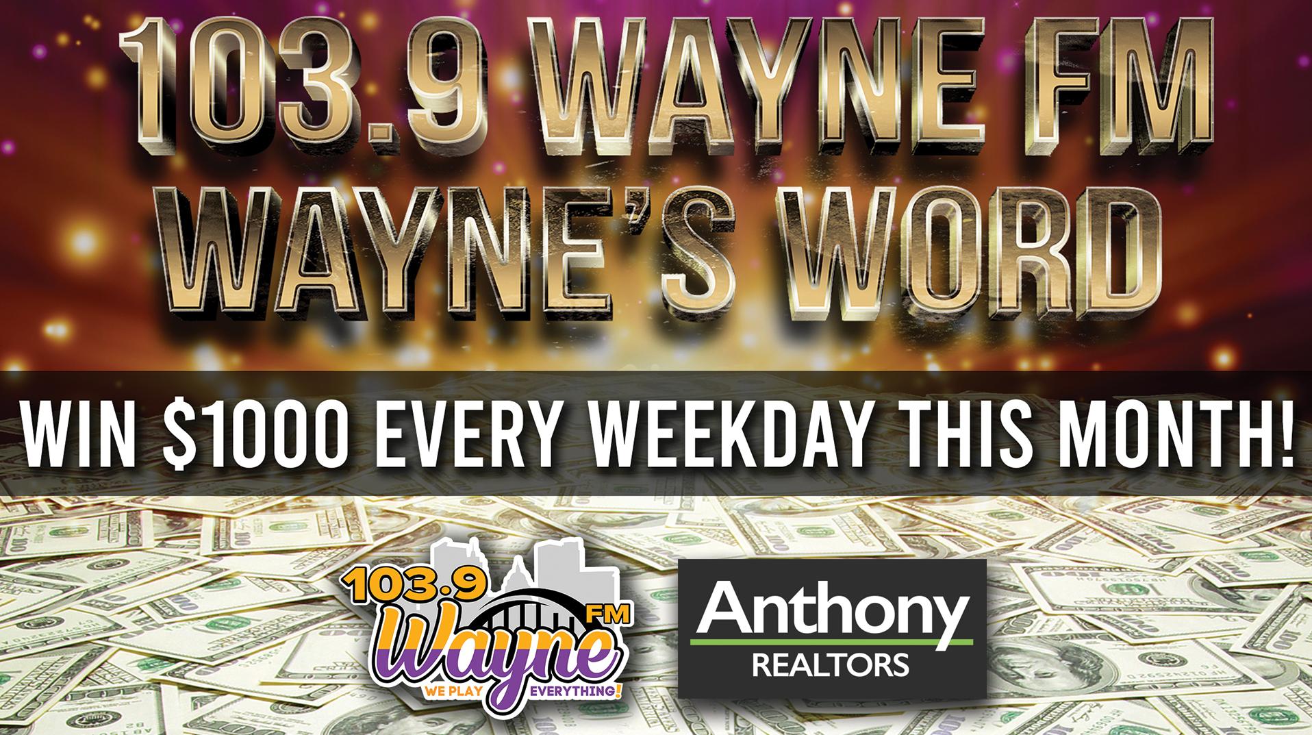 Wayne's Words!