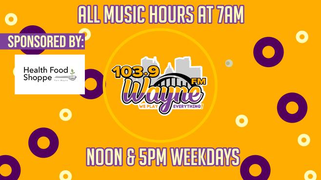 At 103.9 Wayne FM – We Play Everything!