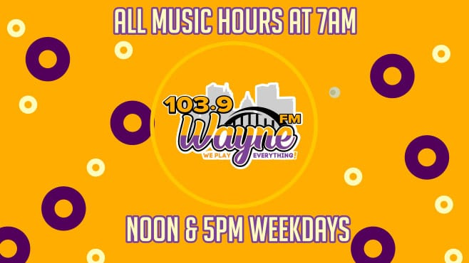 At 103.9 Wayne FM – We Play Everything!